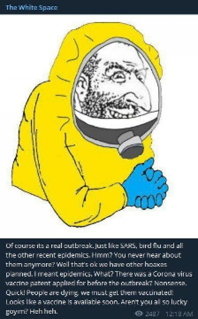Meme of the happy merchant anti-Semitic drawing