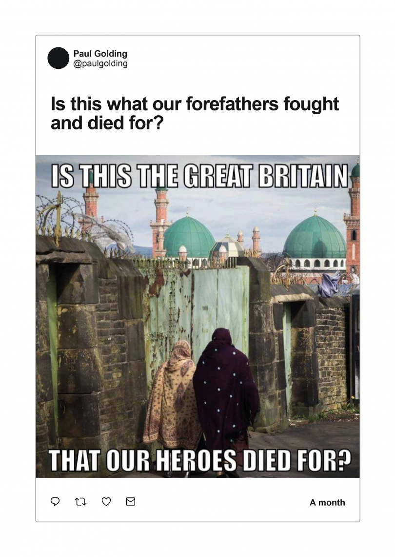 Figure 3.8.1. GAB Posts by Paul Golding and Jayda Fransen from Britain First about Islamisation.jpg